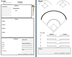 baseball depth chart template new 2017 resume format and cv