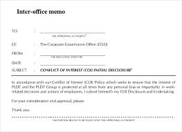interoffice memo templates 22 free sample example format