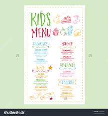 image result for kids menu designs menu design pinterest