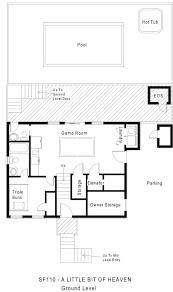 Updown Court Floor Plans by 1 Lot Back Vacation Rental A Little Bit Of Heaven