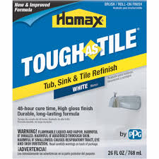 tough as tile sink and tile finish homax tough as tile tub sink tile finish 3158 do it best
