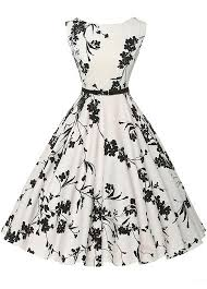 sleeveless flower print a line dress clothes clothing and fashion