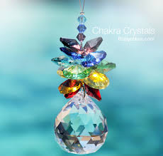 beautiful gifts chakra crystal cluster inspirational art for your window robyn