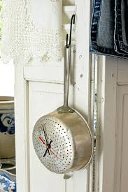 wooden kitchen wall clock large vintage style wooden wall clock