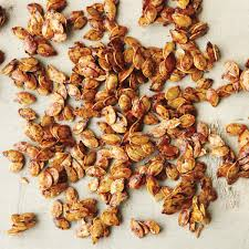 Toasting Pumpkin Seeds Cinnamon Sugar by Spiced Pumpkin Seeds