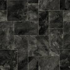 colours octavina vinyl flooring black slate effect 5397007034028