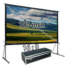 aliexpress com buy mobile projector screen 1080p with floor
