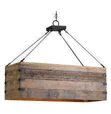 Rustic Kitchen Lights by Interior Unique Rustic Lighting Fixtures Design With Rectangle