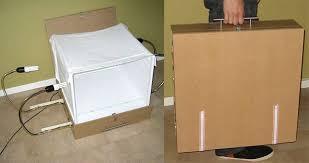 how to make a photo light box how to make a diy portable light box