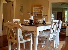 cream dining set distressed farm table dining room distressed