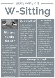 w sitting what is it and how can you help your child parents