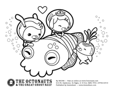 The Octonauts Activities Octonauts Coloring Pages