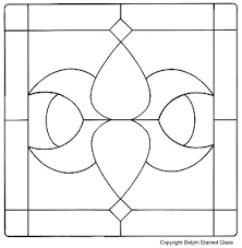 free stained glass patterns free to