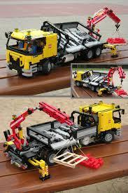 lego technic truck waler93 u0027s pneumatic crane truck v2 lego technic mindstorms