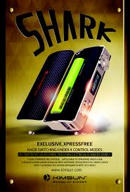 kimsun shark is the newest model in june it is a tc60w box mod