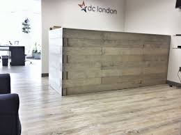 Modern Industrial Desk by Home Design Modern Industrial Reception Desk For Motivate Home