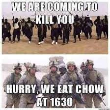 Army Girlfriend Memes - we are coming to kill you the silent soldier
