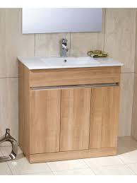 athens oak 80cm vanity unit toledo u0026 basin