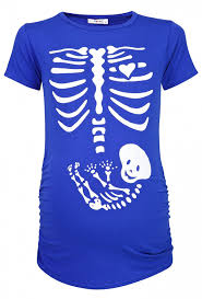 halloween pregnancy shirts happy mama women u0027s maternity halloween baby skeleton print top t