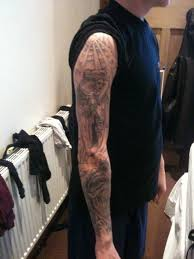 And Demons Sleeve Tattoos Demons Sleeve By Mattcanning On Deviantart