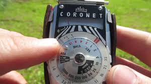 film camera light meter how to use a walz coronet light meter analog photography film