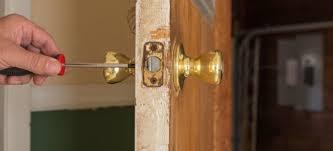 How To Remove Bedroom Door Knob Without Screws How To Repair A Loose Doorknob Doityourself Com