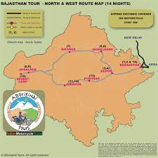 Agra India Map by Rajasthan Motorcycle Tours Luxury Vacations In India Bharatpur