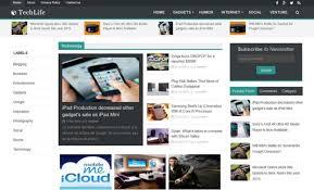 7 template blogger terbaik dan responsive gratis u2013 jurnal web