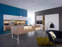 kitchen feature wall ideas white and wood kitchen blue feature wall interior design