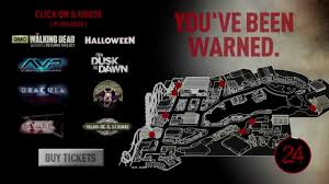 Universal Orlando Maps interactive map halloween horror nights 24 youtube