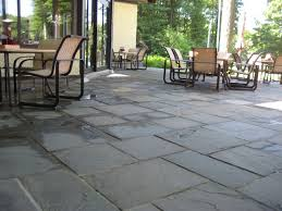 Dry Laid Bluestone Patio by Ewm Patios