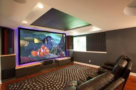 dramatic home theater u2014 forward design build