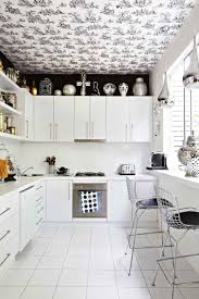 kitchen design ideas modern black and white kitchen backsplash