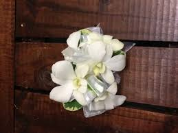 white orchid corsage white orchid corsage wrist corsage in fairfield ct blossoms at