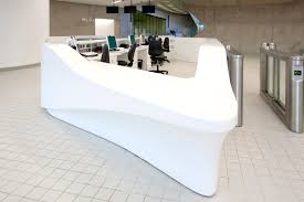 Corian Reception Desk Corian Reception Desk Manufacturers Bespoke Reception Desk Design