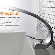 bakala modern washbasin design bathroom faucet mixer waterfall