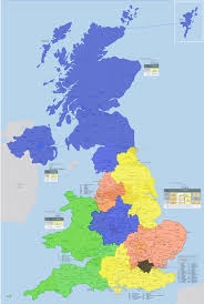 Lancashire England Map by Uk Split Up Into Areas Where Population Is Equal To That Of London