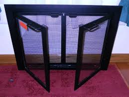 replacement fireplace screen laboratorioc3masd co