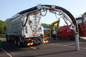force one ltd suction excavator showing extended arm suction