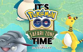 go safari zone update events around the world slashgear