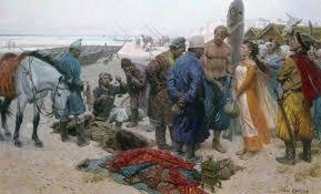 kinder gentler vikings not according to their slaves