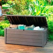 Garden Storage Bench Wooden Wooden Garden Storage Box U2013 Exhort Me