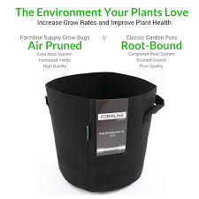 The Smart Garden by Grow Bags Pack Of 5 5 Gallon Fabric Pots Are The Smart Way To