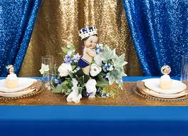 royal blue and gold baby shower prince baby shower with blue gold glitz cv linens