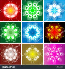 ornamental objects stock vector 23116060