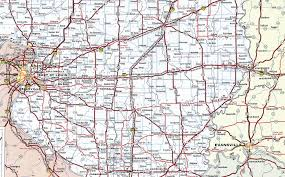 Map Of Southern Ohio by Interstate Guide Interstate 64