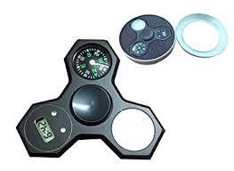 a light up fidget spinner amazon com fidget spinner light up compass clock led flash hand
