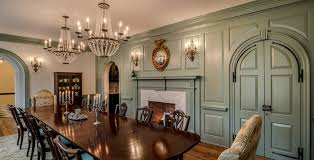 How To Create A Georgian Colonial Home Interior Freshomecom - Colonial dining rooms
