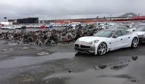 Cars In Port Elizabeth Fisker Lost 30 Million Worth Of Cars In Hurricane Sandy