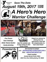 ymca sinking spring pa a heros hero warrior challenge at sinking spring family ymca reading